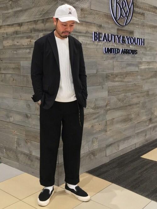 Yuta Okazakiさんの(BEAUTY&YOUTH UNITED ARROWS)を使ったコーディネート