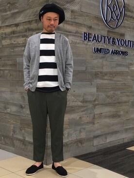 BEAUTY&YOUTH UNITED ARROWS Yuta Okazakiさんの(TOMS トムス)を使ったコーディネート