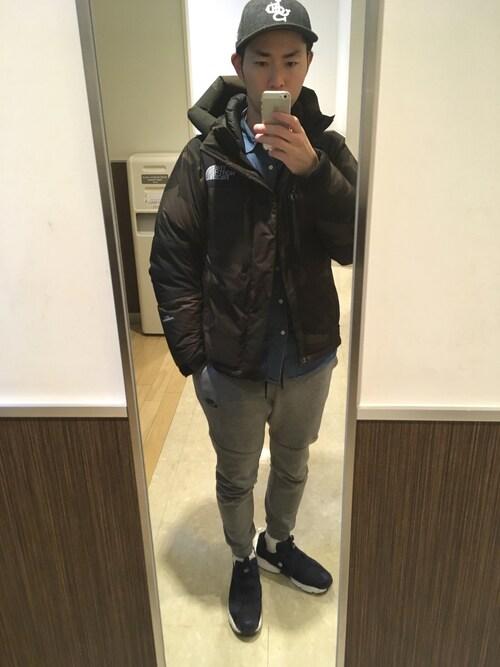 Yujiro|THE NORTH FACEのダウンジャケットコートを使った