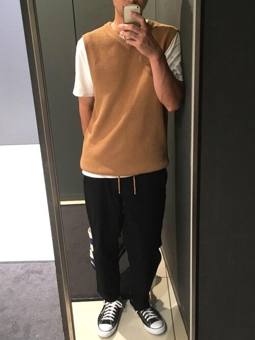 Yujiro|BEAMSのベストを使ったコーディネート WEAR