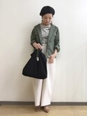 「FOREVER 21 Pointed Faux Suede Flats(Forever 21)」 using this party looks