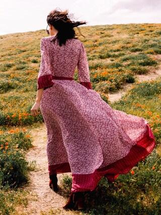 「Women's Tularosa Jolene Wrap Maxi Dress(Tularosa)」 using this Krischerie looks