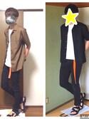 「オープンカラーシャツ(半袖)(ユニクロ)」 using this たく(たっくん) looks