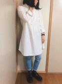 ちょこたろさんの「レディース Dr.Martens ドクターマーチン POLLEY T-BAR 14852001 BLACK(Dr.Martens|ドクターマーチン)」を使ったコーディネート