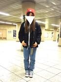 Moekaさんの「【CONVERSE】キャンバス オールスターOX(CONVERSE|コンバース)」を使ったコーディネート