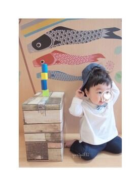 yu-toさんの「デニレギ 7分丈(apres les cours|アプレレクール)」を使ったコーディネート