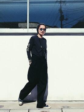 Noriko Kikuchiさんの「PACKABLE HOLIDAY MINI BAG(holiday ホリデイ)」を使ったコーディネート
