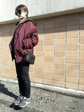 mom☆さんの(New Balance|ニューバランス)を使ったコーディネート