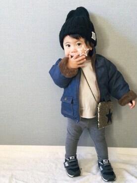 tooowaさんの(babyGAP|babyGAP)を使ったコーディネート