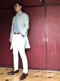 gurutipさんの「DOORS Spring Coat(URBAN RESEARCH DOORS MENS|アーバンリサーチ ドアーズ メンズ)」を使ったコーディネート