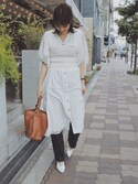 「ALLSAINTS 'Paradise North/South' Tote(AllSaints)」 using this ヤマサキ サオリ looks