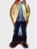 んさんの「DANTON/ダントン ショールジャケット(FREAK'S STORE|フリークスストア)」を使ったコーディネート