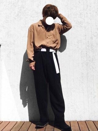 「サテンカイキンシャツ(HARE)(HARE)」 using this サキティー looks