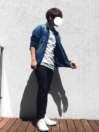 """「Hanes×SHIPS AUTHENTIC PRODUCTS(ヘインズ×シップス・オーセンティック・プロダクツ): """"コンビ"""" 2パック/Tシャツ Japan Fit■(SHIPS)」 using this サキティー looks"""