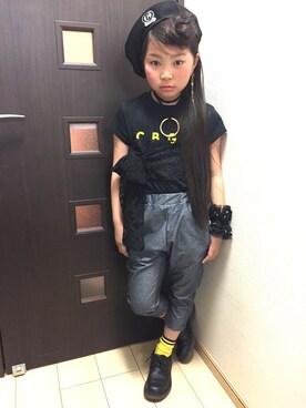 SARAさんの(CHUBBYGANG|チャビーギャング)を使ったコーディネート