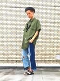(ZARA) using this dpees_tatsuya looks