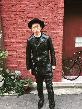 「BOWLER HAT(SWAGGER)」 using this 清晴  looks