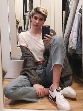 「Joe's Jeans The Debbie High-Rise Straight-Leg Crop Jeans(JOE'S JEANS)」 using this Alyssa looks