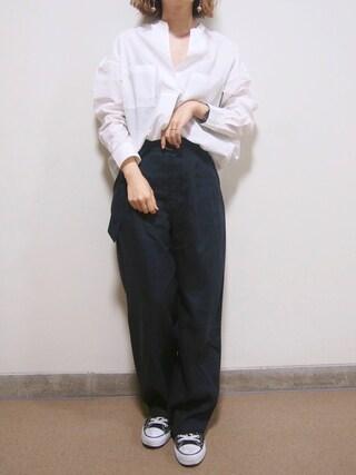 「コットンポケツキスキッパーブラウス 742603(LEPSIM)」 using this yui looks