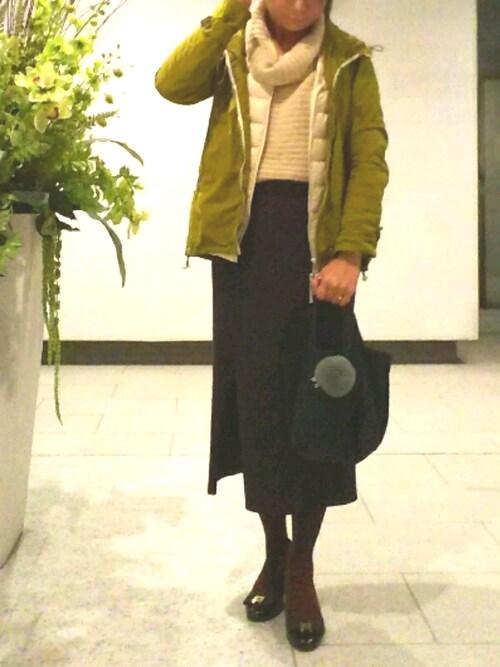 けゆもんさんの「DOORS カラージップパーカー(URBAN RESEARCH DOORS WOMENS)」を使ったコーディネート