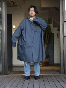 GARDEN 原宿|KAZ_GARDEN_Harajuku さんの(Needles|ニードルス)を使ったコーディネート
