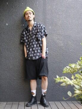 GARDEN 原宿|KAZ_GARDEN_Harajuku さんの(Blundstone|ブランドストーン)を使ったコーディネート