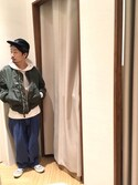shoushoushouさんの「【CONVERSE/コンバース】 STAR&BARSSUEDE(CONVERSE|コンバース)」を使ったコーディネート