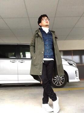 kazuさんの(Lee|リー)を使ったコーディネート