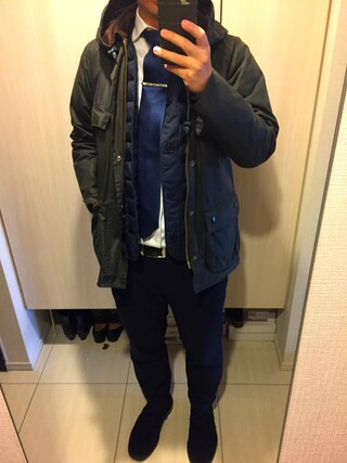 smtshさんの「BARBOUR SL HOODED OLD BEDALE×JS/別注 ビデイル#(Barbour|バーブァー)」を使ったコーディネート