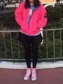 菜瑠さんの「CONVERSE / CANVAS ALL STAR HI(CONVERSE コンバース)」を使ったコーディネート