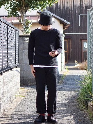 comoda|comoda上西猛夫さんの(SUBLIME|サブライム)を使ったコーディネート
