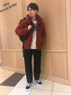 Bshop 西宮ガーデンズ店|Tanakaさんの「【MORRIS & SONS】ノルディックセーター MEN(Morris & Sons)」を使ったコーディネート