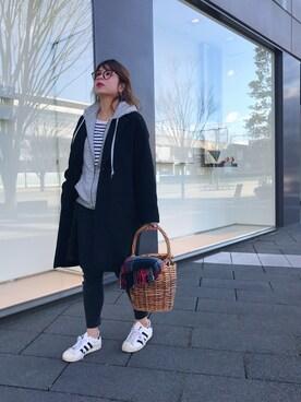 Rabi*さんの「※VERY6月号掲載【menui】JANE basket(LE JUN|ル ジュン)」を使ったコーディネート