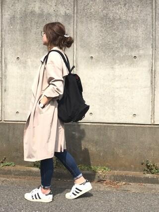 Rabi*さんの「【ONLINE STORE限定】Dakota Backpack -ダコタバックパック-(Manhattan Portage|マンハッタンポーテージ)」を使ったコーディネート