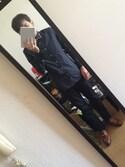 Nobu  is wearing H&M