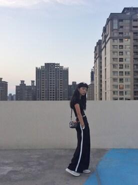 Sheng-Ning Chengさんの「RAY-BAN Sunglasses(Ray-Ban|レイバン)」を使ったコーディネート