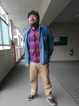 神田誠二さんの(Timberland)を使ったコーディネート