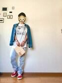 「Levi's 501 Slim-Fit Stretch-Denim Jeans(Levi's)」 using this Mon looks