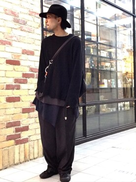 「【C-PLUS HEAD WEARS/シープラス ヘッドウェアーズ】 FRONT PINCH HAT(C-PLUS HEAD WEARS)」 using this Lui's HEP FIVE店|TOMOYOSE looks