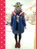 あこ☆★さんの「LOVE CANDY SAILOR STADIUM COAT(Candy Stripper|キャンディストリッパー)」を使ったコーディネート