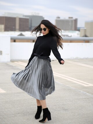 「Madison & Berkeley Oversize Turtleneck Tunic (Nordstrom Exclusive)(Nordstrom)」 using this shell looks