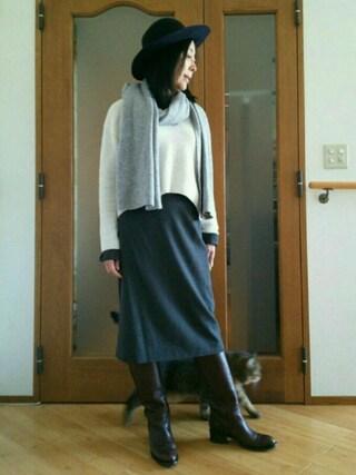 Yurikoさんの「ブラウススーツ(JIL SANDER|ジルサンダー)」を使ったコーディネート