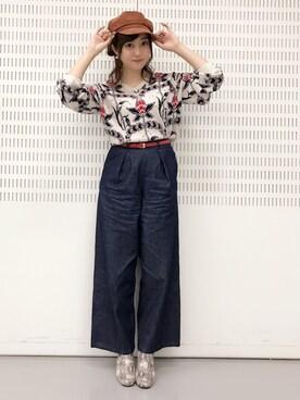 菊地亜美さんの(MURUA|ムルーア)を使ったコーディネート