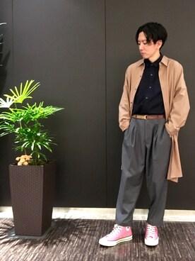 JUNRed グランフロント大阪|tmkさんの(JUNRed|ジュンレッド)を使ったコーディネート