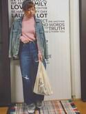 waca ☺︎さんの「ミニマルシェバッグ / Mini Marche Bag(TODAY'S SPECIAL トゥデイズスペシャル)」を使ったコーディネート