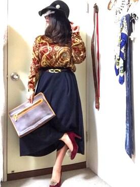 Risa Ikedaさんの(COMMECAISM|コムサ イズム)を使ったコーディネート