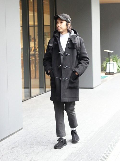NAKAさんの「◆LONDON TRADITION 別注オーバーサイズ ダッフルコート#(LONDON TRADITION)」を使ったコーディネート