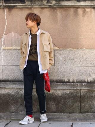 Ryusei Satoさんの(kiit|キート)を使ったコーディネート