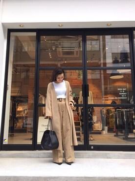 LIFE's堀江店 ERINA  TAMOTSUさんの(TODAYFUL トゥデイフル)を使ったコーディネート
