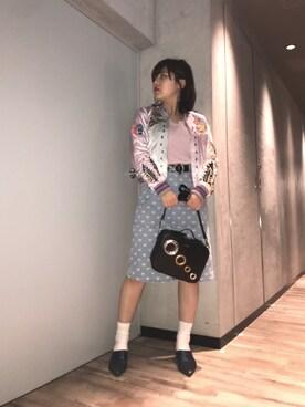 DIESEL SHIBUYA|長谷川 美月さんの(DIESEL|ディーゼル)を使ったコーディネート
